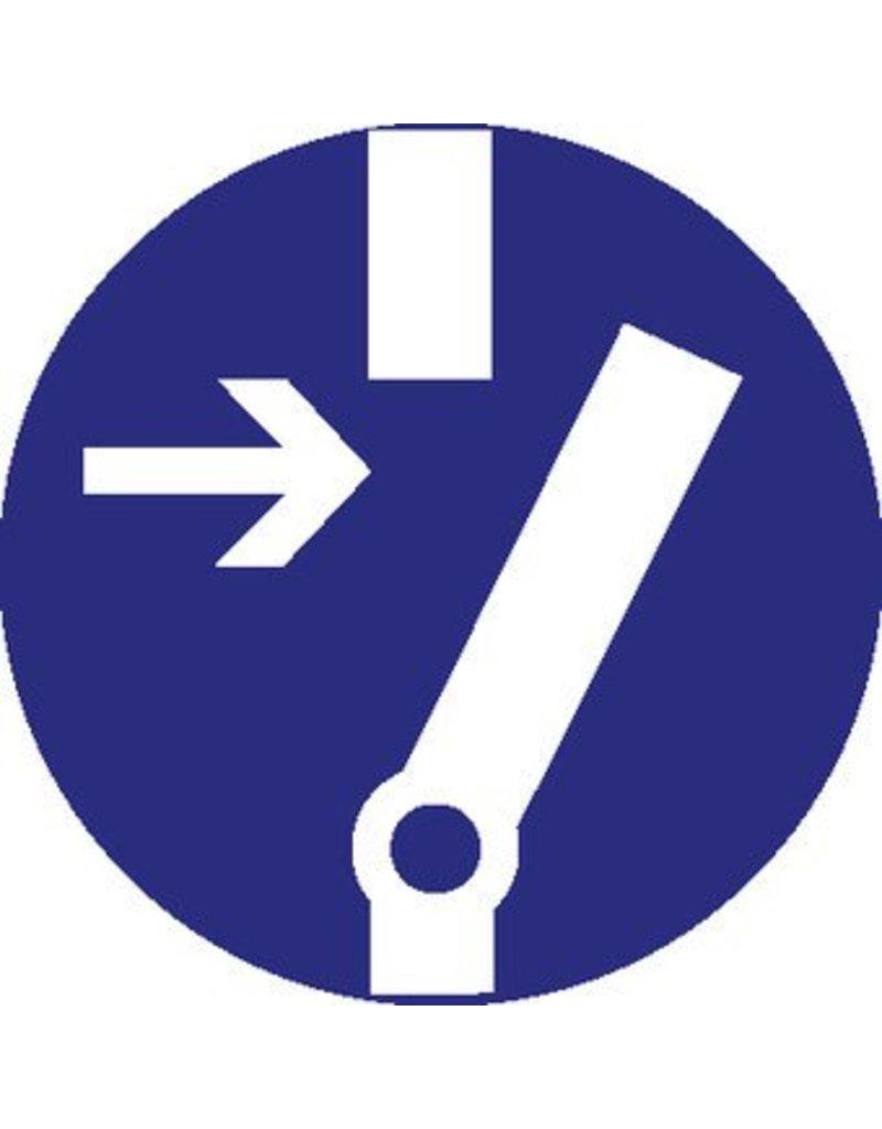 Autocollant changer avant utilisation