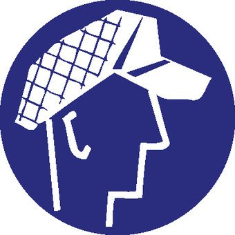 Protective cap mandatory sticker 2