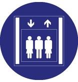 Personenlift Sticker