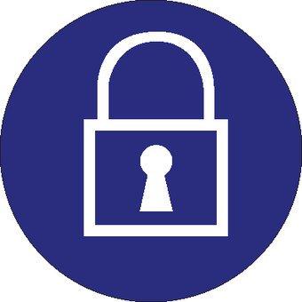 Usage of padlock mandatory