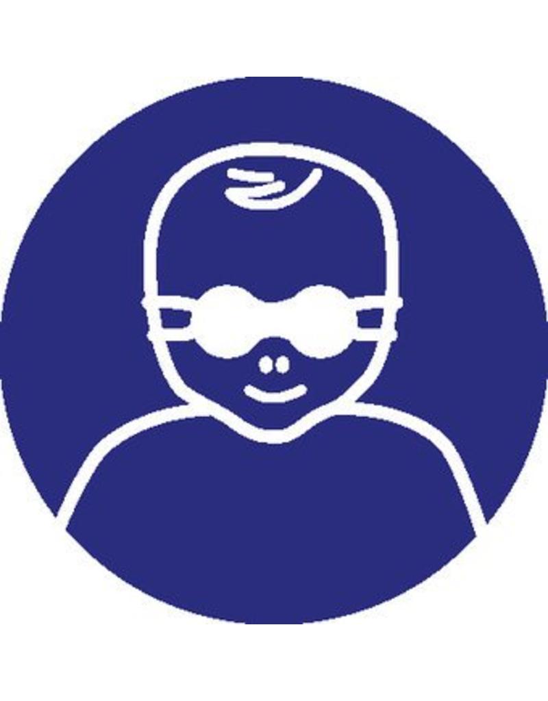 Autocollant protection des yeux pour patientes