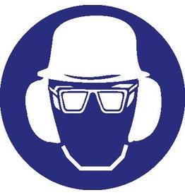Autocollant protection complète obligatoire