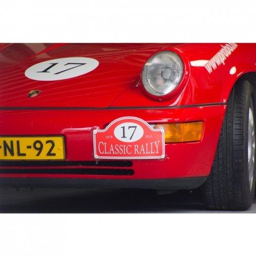 Rallye plate