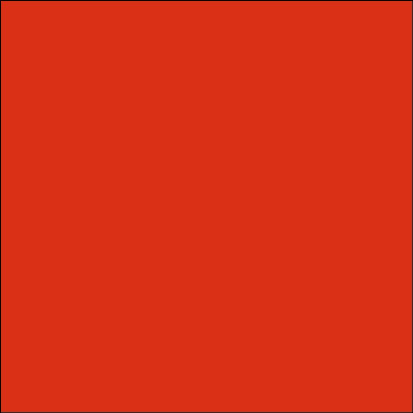 Oracal 651: orangerot