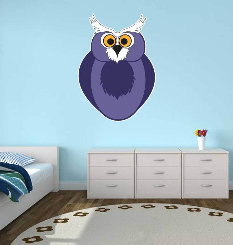 Kinderkamer Sticker - Uil