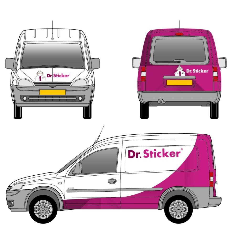 Optie 3 Bestelwagen Klein