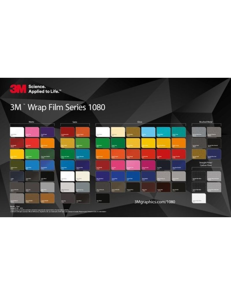 3m 1080: Matte Blue Metallic