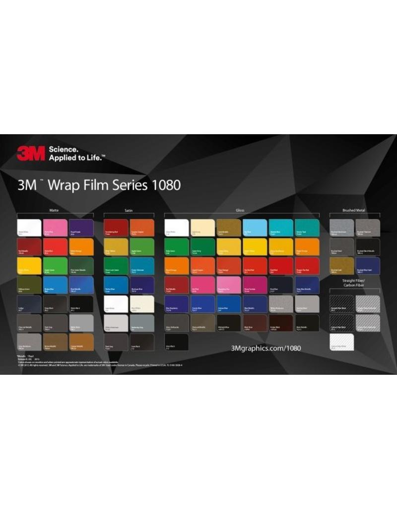 3m 1080: Gloss Blue Steel Metallic