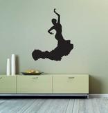 Vinilo decorativo: Flamenco 1