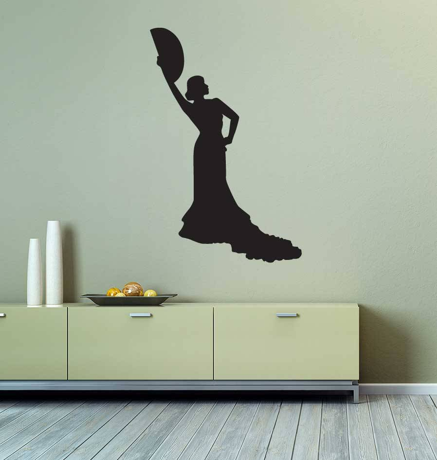 Vinilo decorativo: Flamenco 2