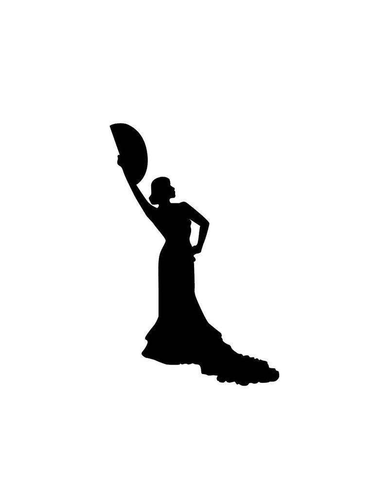 Flamenco Snijvinyl 2