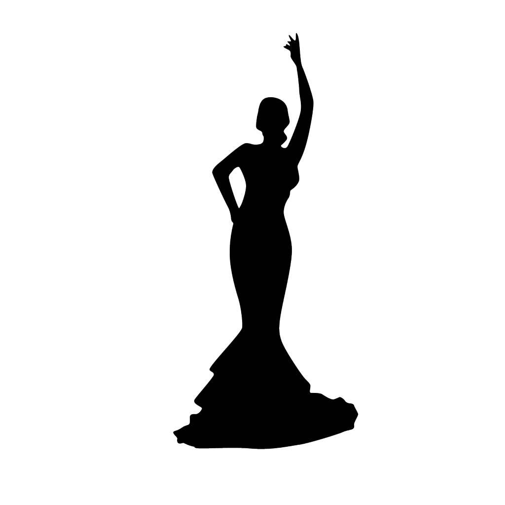 Flamenco Folienschnitt 3