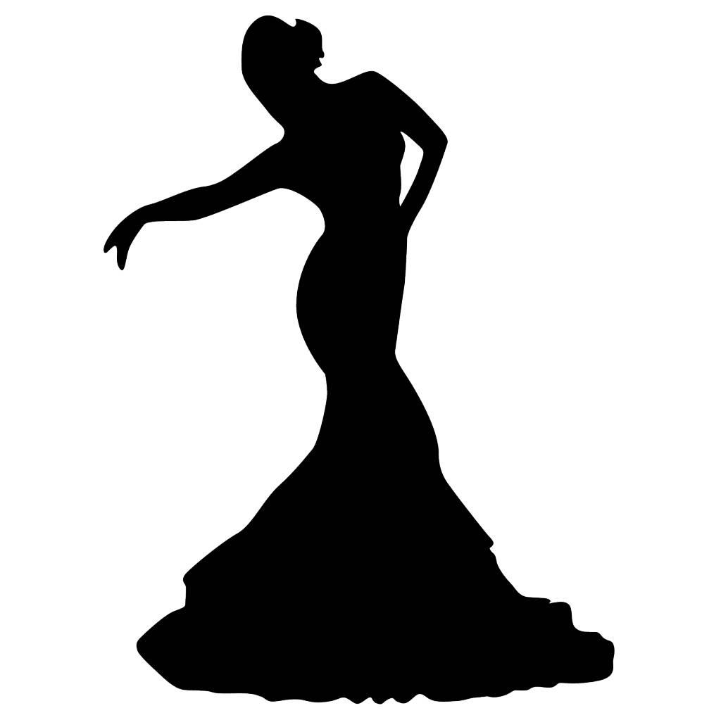 Vinilo decorativo: Flamenco 4