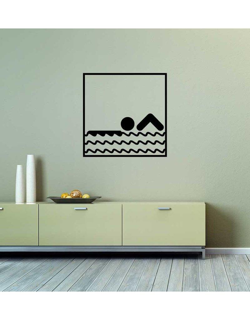 Schwimmen Folienschnitt