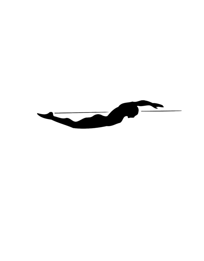 Zwemmen3 Snijvinyl