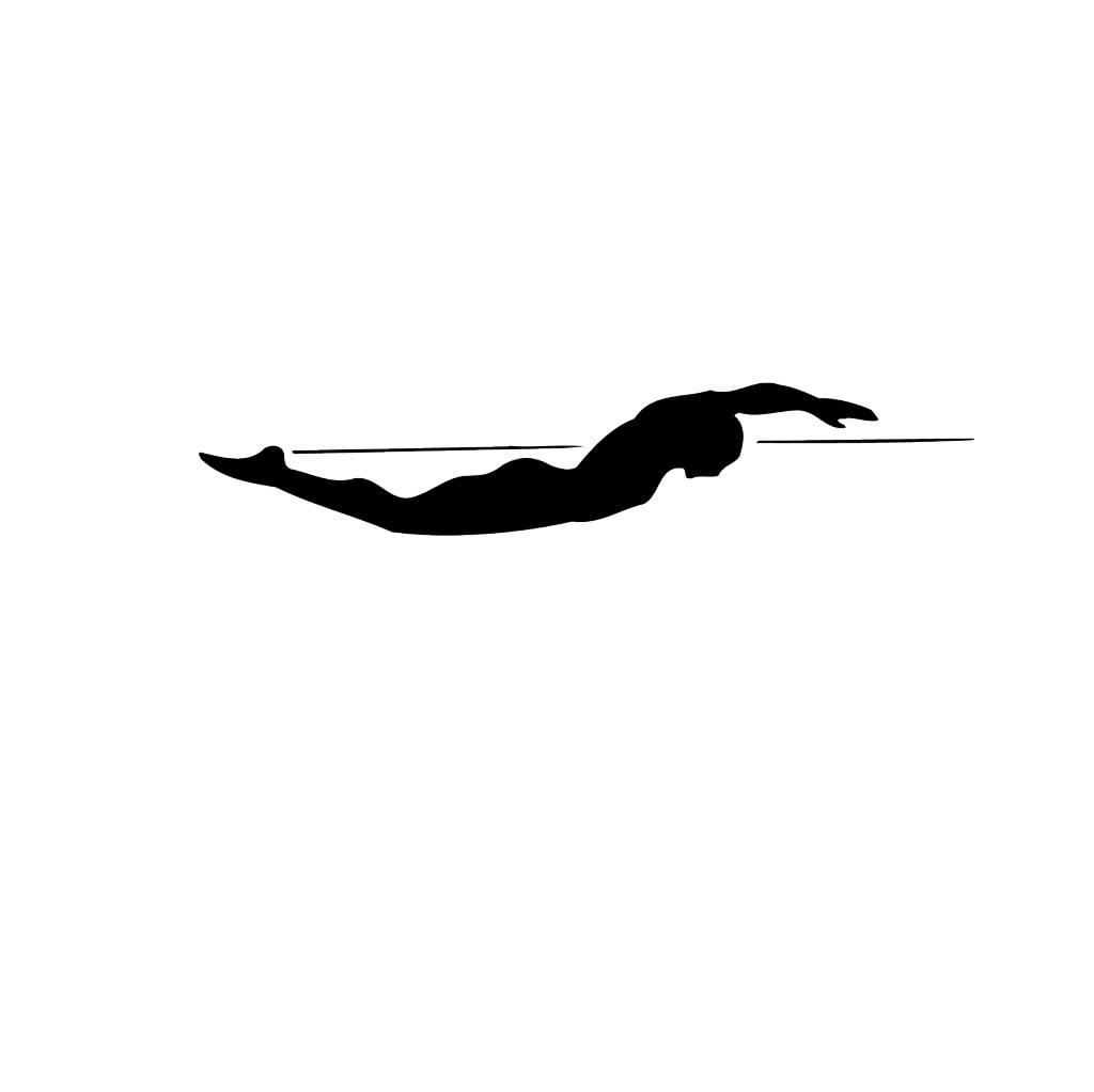Schwimmen3 Folienschnitt