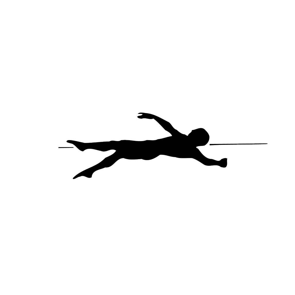 Zwemmen4 Snijvinyl