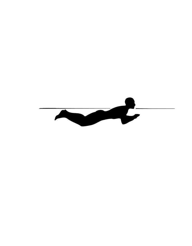 Swimming 5 Cut Vinyl