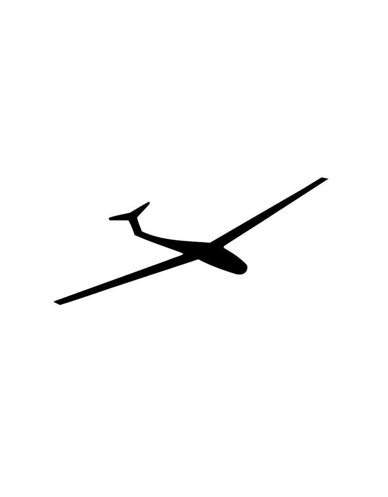 Glider Plane Cut Vinyl