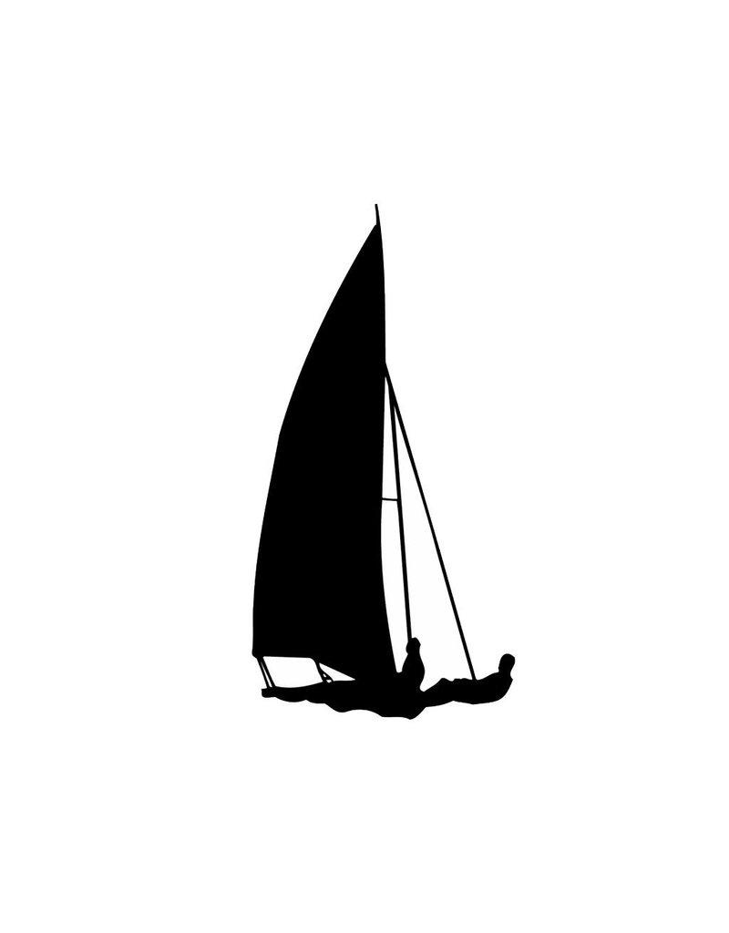 Vinilo decorativo: Navegación a vela