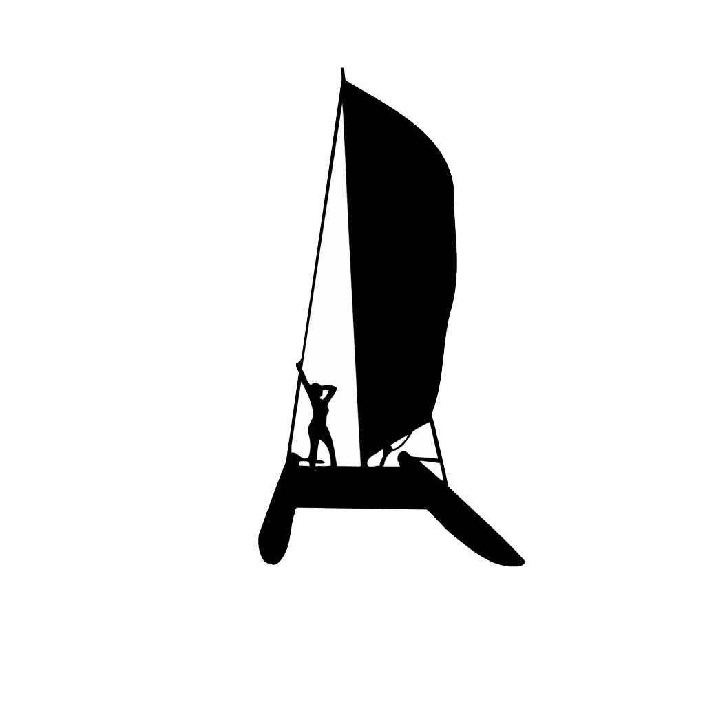 Vinilo decorativo: Navegación a vela 3