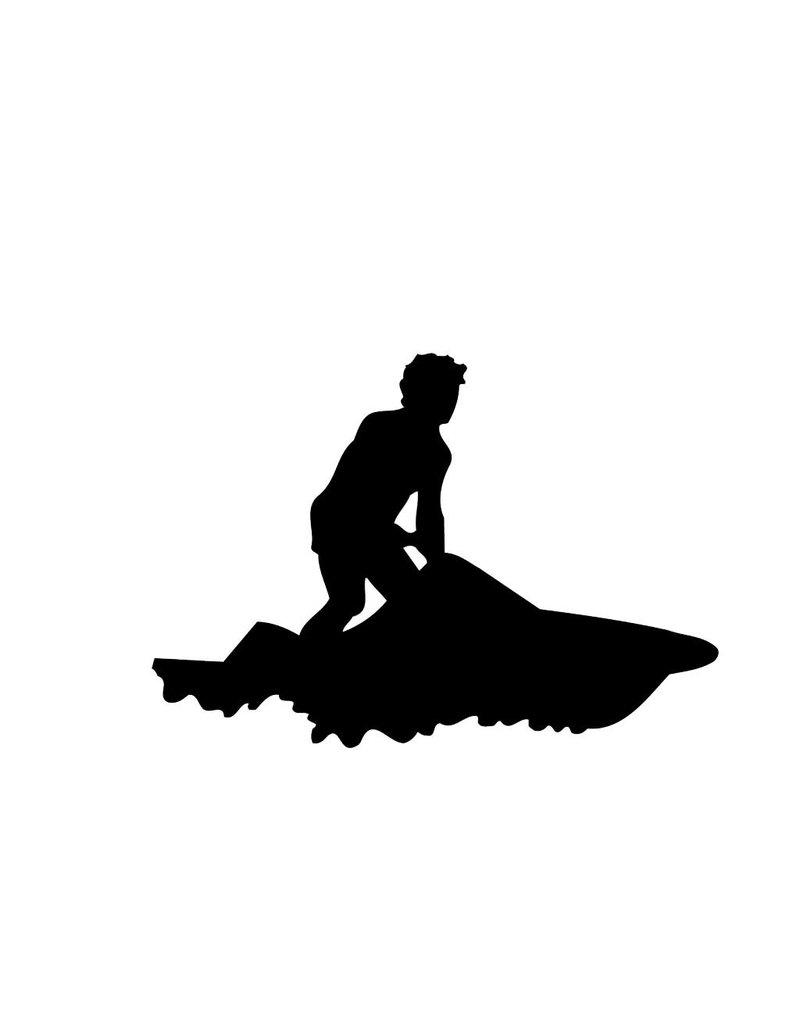 Waterscooter Snijvinyl
