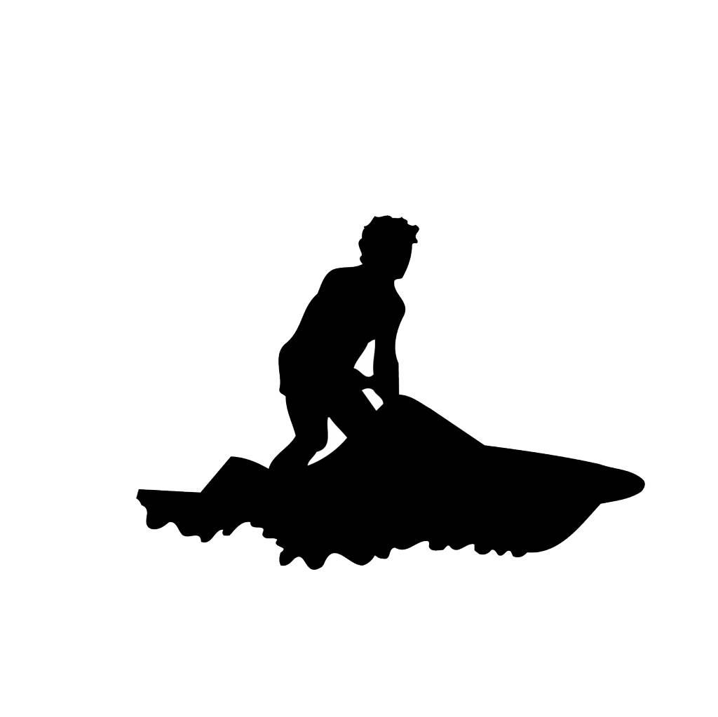 Water scooter Cut Vinyl