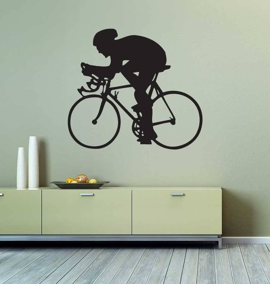 Cycling Cut Vinyl