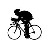 Vinilo decorativo: El ciclismo
