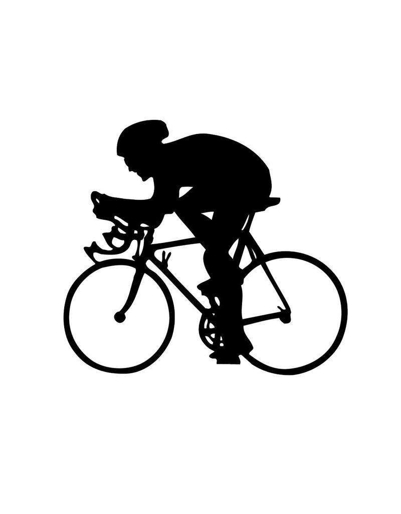 Cycling Cut Vinyl