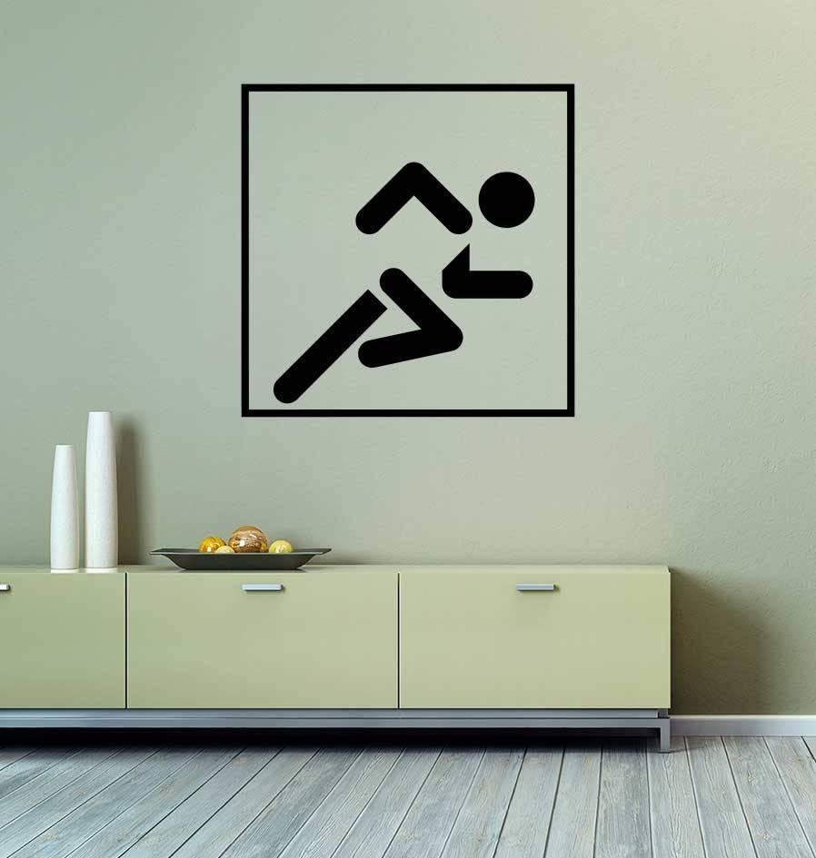 Vinilo decorativo: El sprint