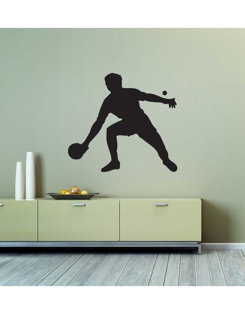 Tischtennis Folienschnitt