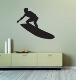 Vinilo decorativo: Hacer surf 3