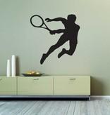 Vinilo decorativo: El tenis