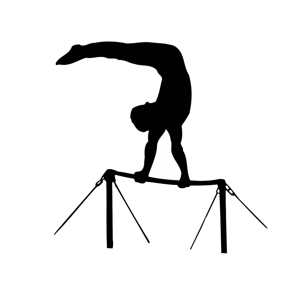 Gymnastics 4 Cut Vinyl