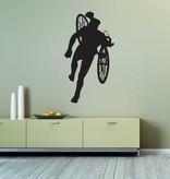 Vinilo decorativo: Cyclo-cross