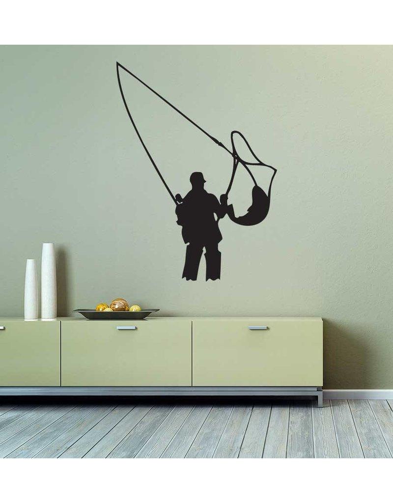 Vinilo decorativo: La pesca