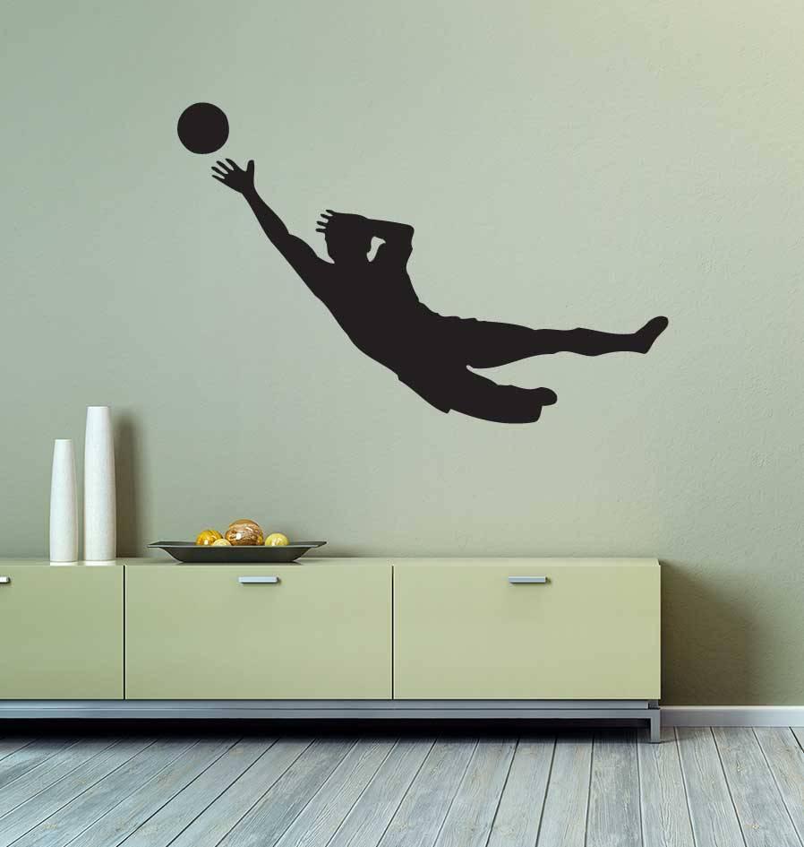 Vinilo decorativo: El fútbol