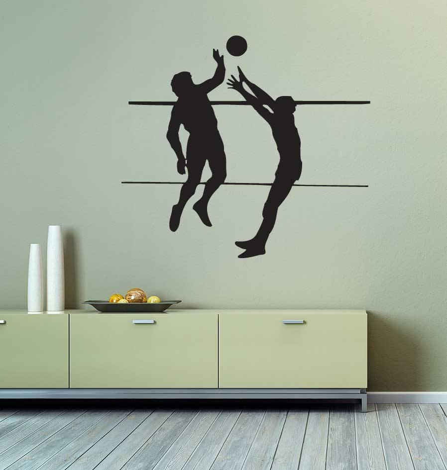 Volleybal Folienschnitt