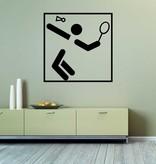 Badminton Folienschnitt