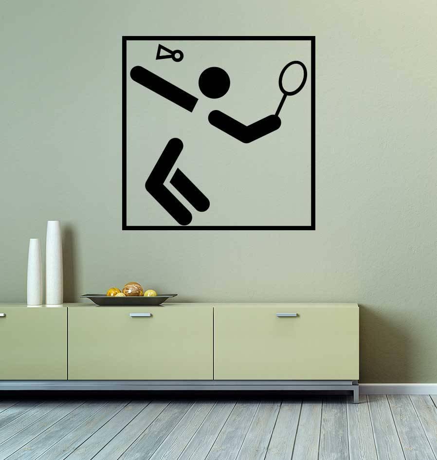 Badminton Snijvinyl