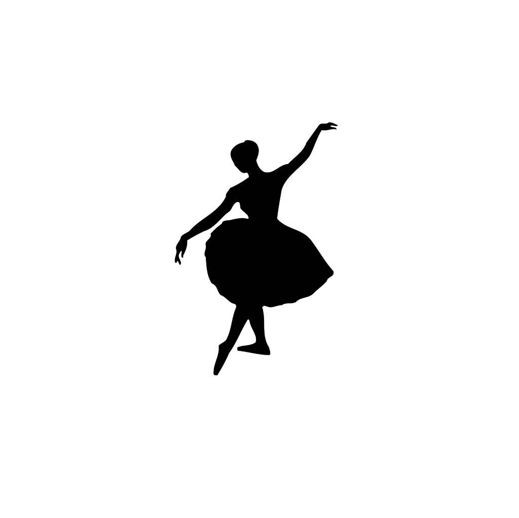 Ballet4 Snijvinyl