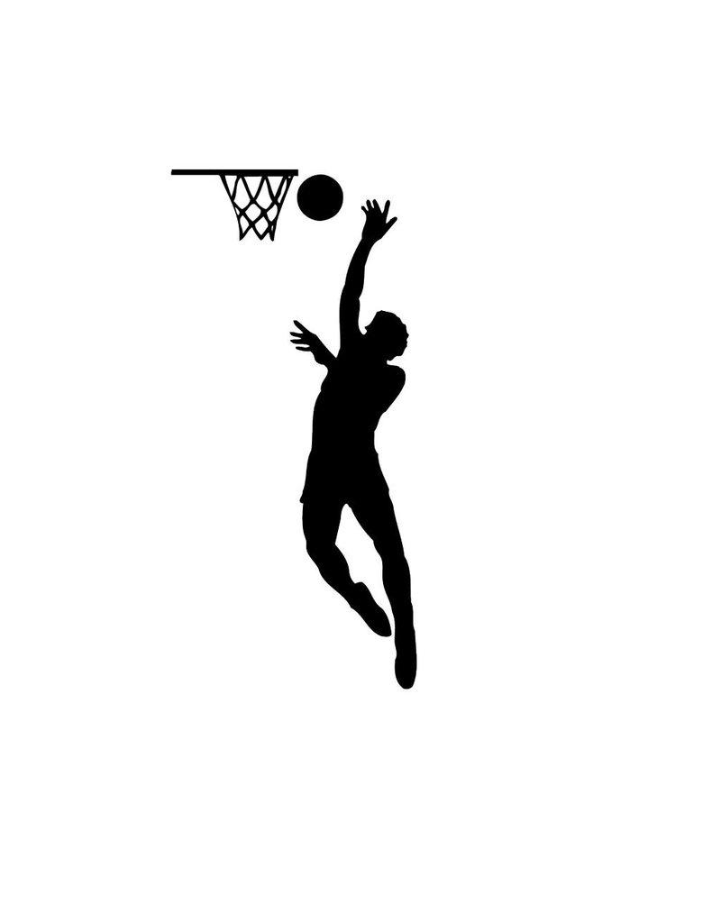Basketball Folienschnitt