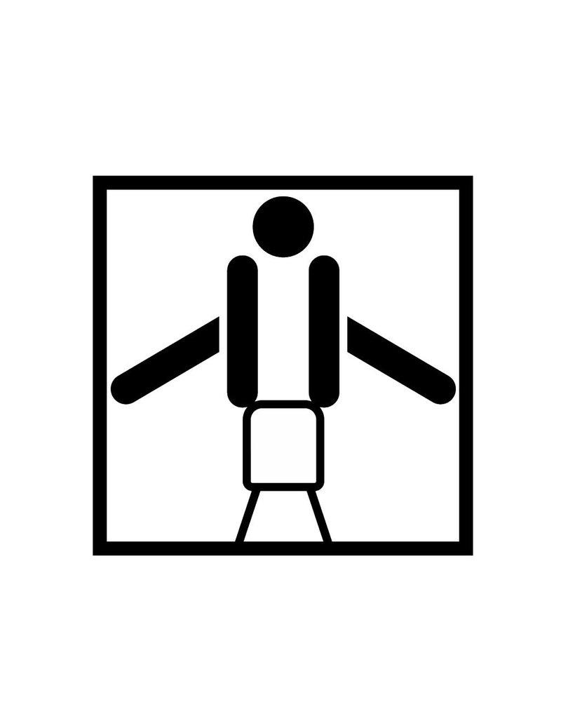 Vinilo decorativo: El potro gimnasia
