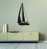Vinilo decorativo: Barco