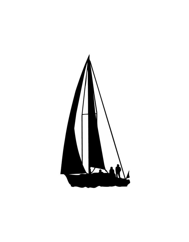 Boot Folienschnitt