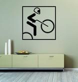Cross Bike Cut Vinyl