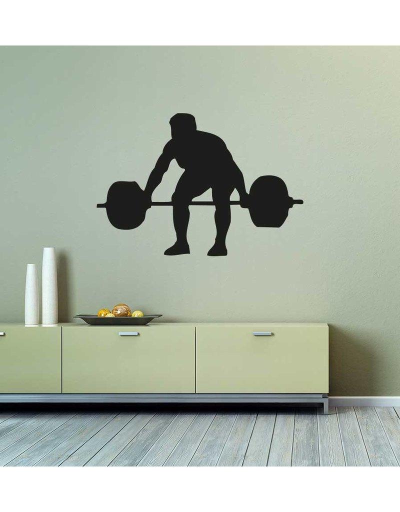 Gewichtheffen Snijvinyl