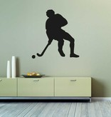 Vinilo decorativo: El hockey