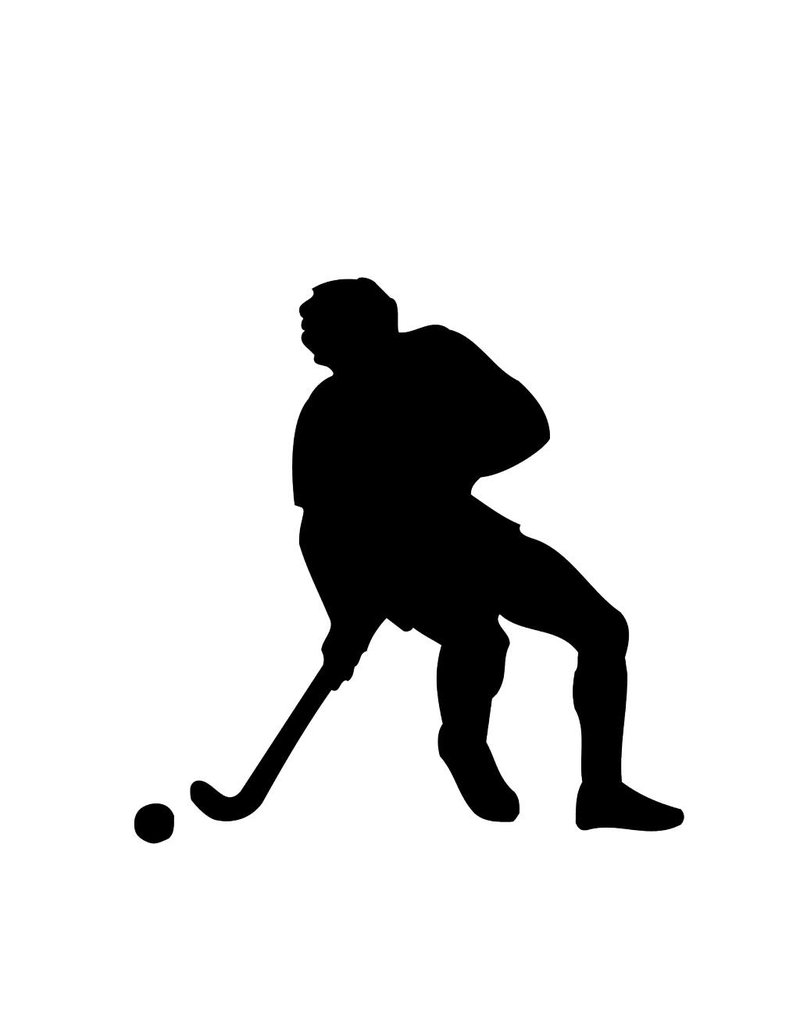 Hockey Folienschnitt
